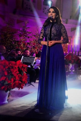 المغنية ماجدة الرومي