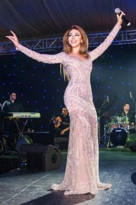 المغنية مريام فارس