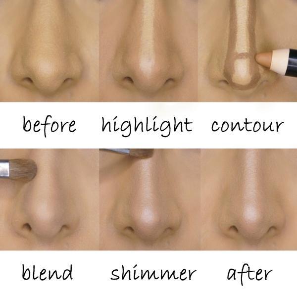 nose-countour
