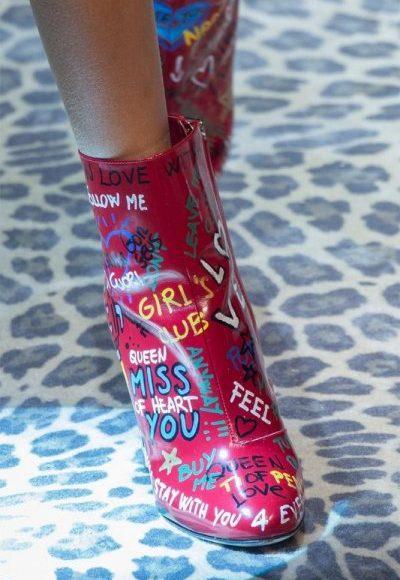 احذية البوت الشبابي