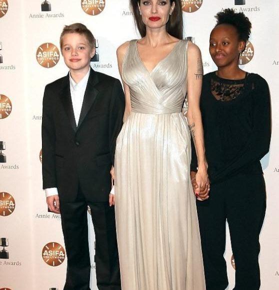 انجلينا في حفل جوائز Annie