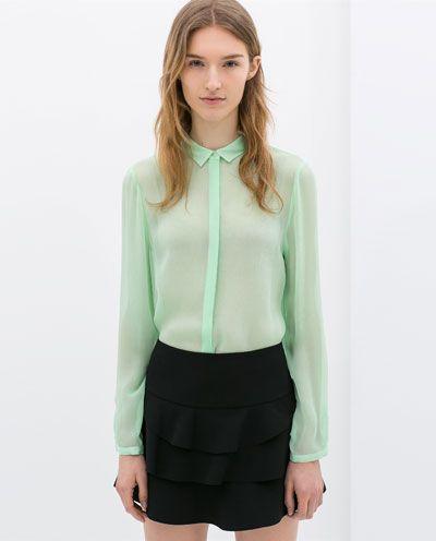 بلوز-خضراء