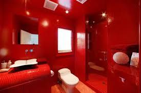سيراميك حمامات باللون الاحمر الراقية