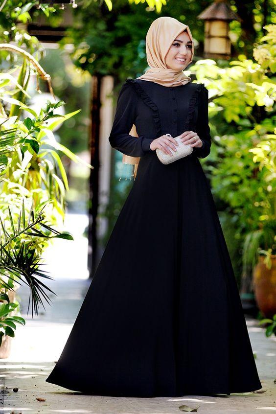 عباية-تشبه-الفستان