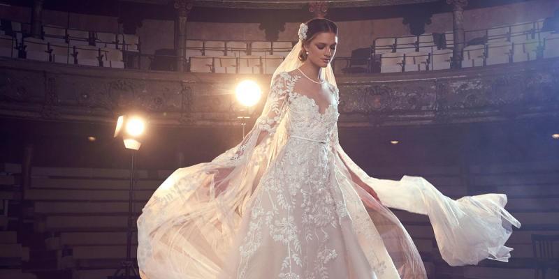 e74355228 صور فساتين زفاف باكمام شفافة. تاريخ فبراير 8, 2018. فساتين عرايس 2018