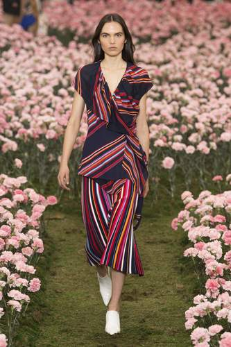 فستان-مخطط