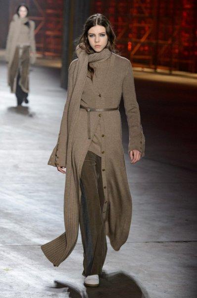 كارديجان-طويلة-فوق-الملابس