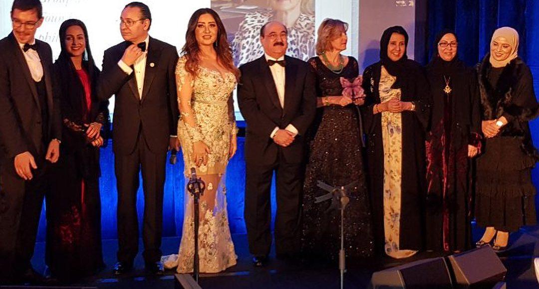 البرلمان الإماراتي يكرم الفنانة التونسية