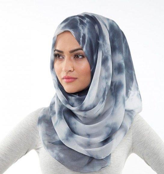 حجاب للوجه الدائري