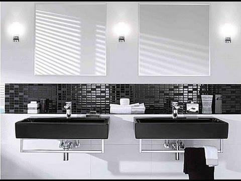 ديكورات حمامات باللون الاسود3