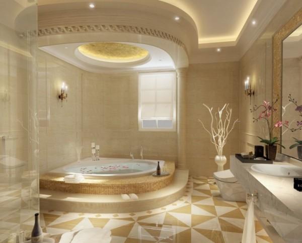 ديكورات حمامات تركي