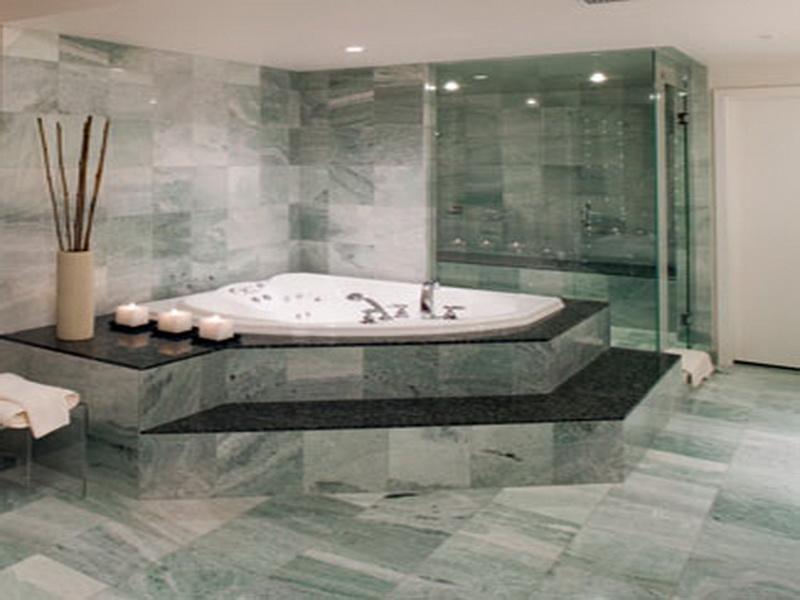صور ديكورات حمامات من رخام