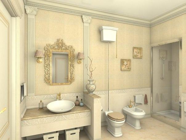 صور ديكورات حمامات من رخام1