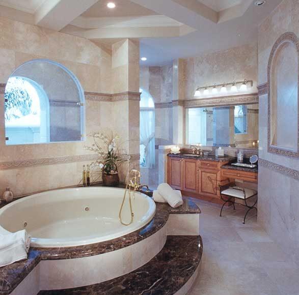 حمامات من الرخام