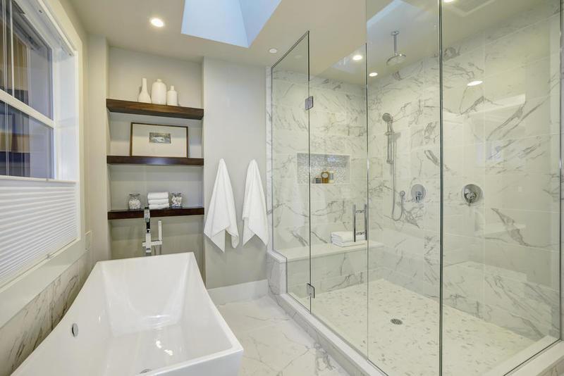 صور ديكورات حمامات من رخام الراقية