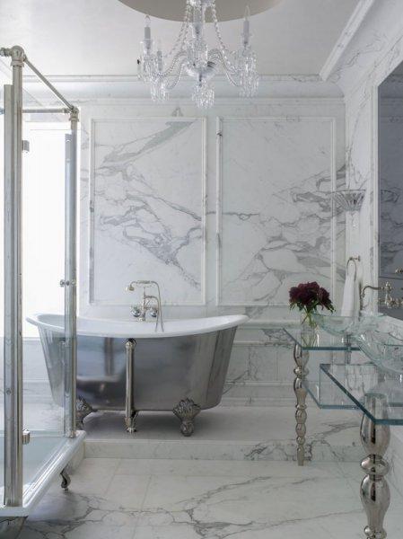 صور ديكورات حمامات من رخام8