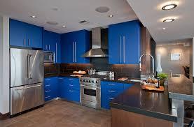 مطابخ باللون الازرق