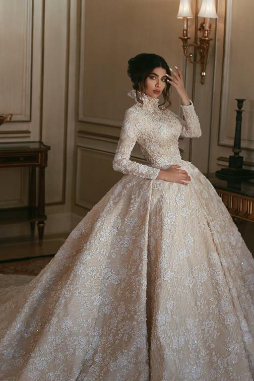 فستان-زفاف-فخم