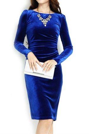 فستان-قطيفة