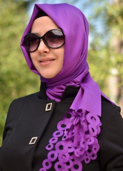 لفة-حجاب-تركية