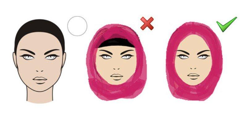 لفة-حجاب-صحيحة