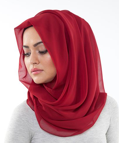 لفة-حجاب-للوجه-الدائري