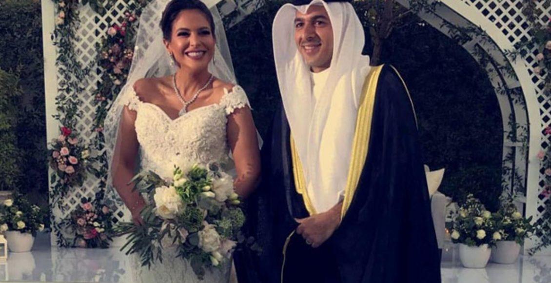 حفل زفاف بيبي العبد