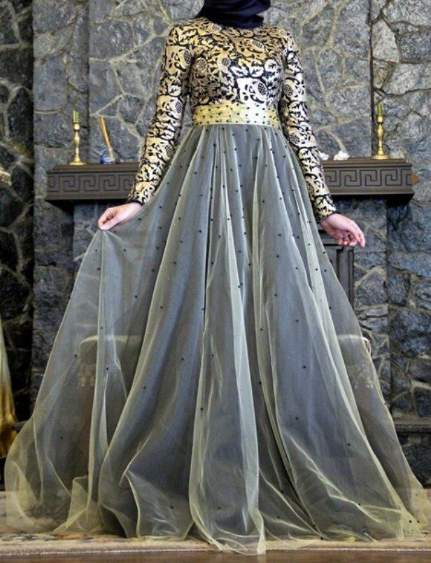 Golden-Dress