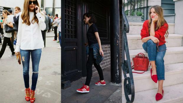احذية-حمراء