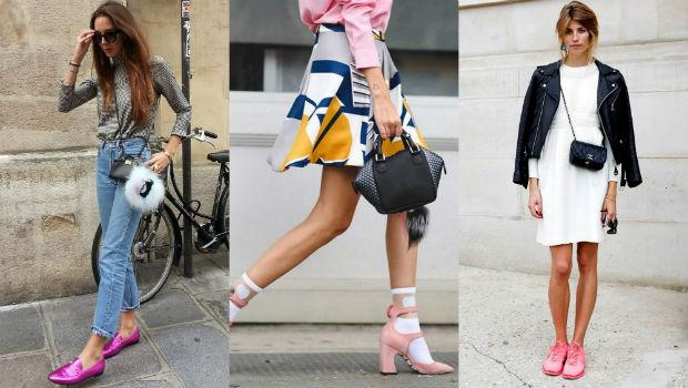 احذية-وردية