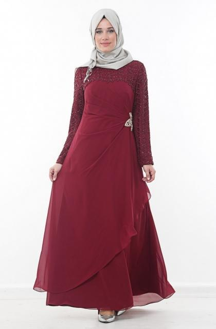 الفستان-الاحمر