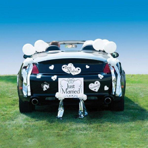 بالونات-لسيارة-الزفاف