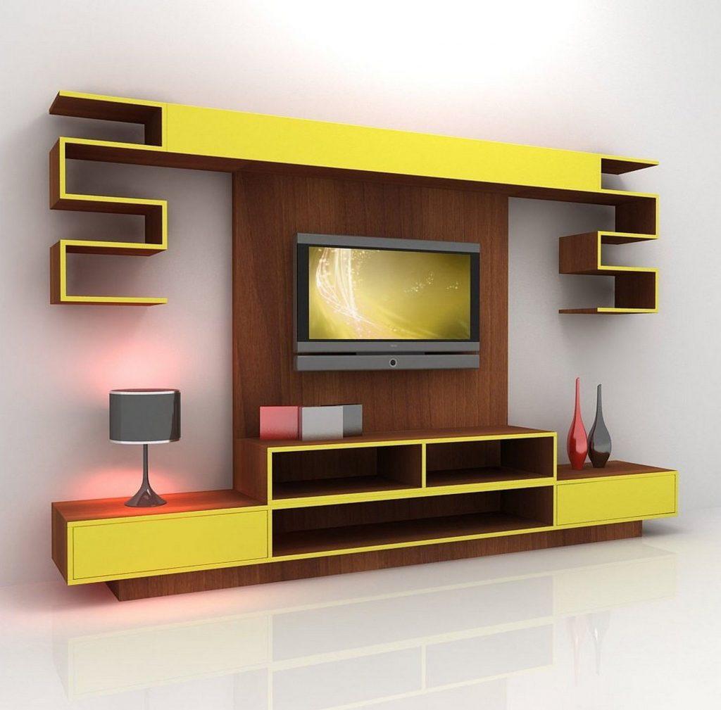 حائط_التلفزيون