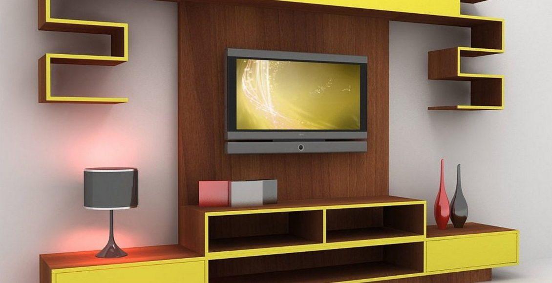 حائط التلفزيون