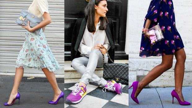 حذاء-بنفسجي