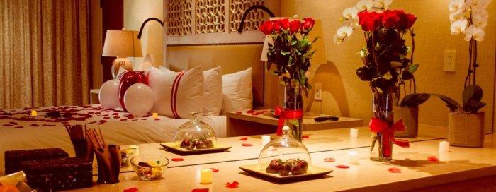 ديكور رومانسي لغرفة النوم
