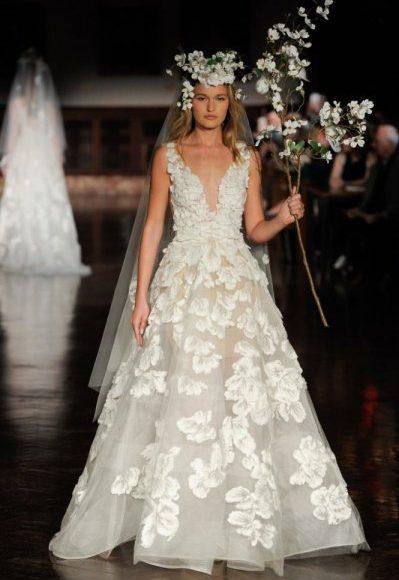 فستان زفاف من ريم عكرا