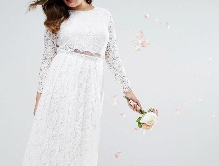 فستان زفاف للممتلئات