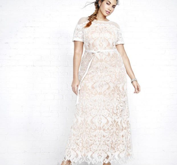 موديل فستان زفاف بسيط