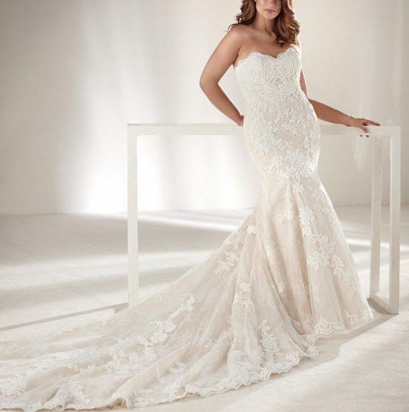 فستان زفاف ذيل طويل