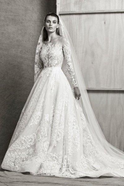 فستان-زفاف-طويل