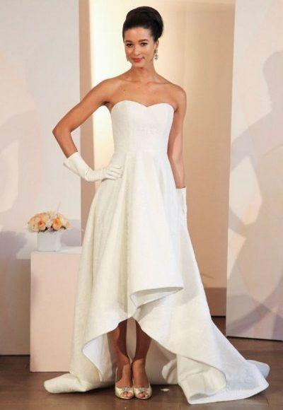 موديل فستان زفاف للقصيرات