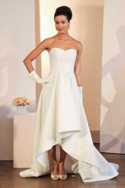 فستان-زفاف-للقصيرات