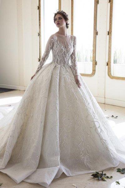 فستان-زفاف-ملوكي-فخم