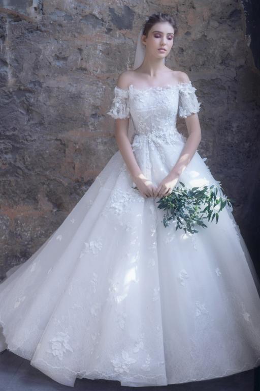 فستان-زفاف-واسع