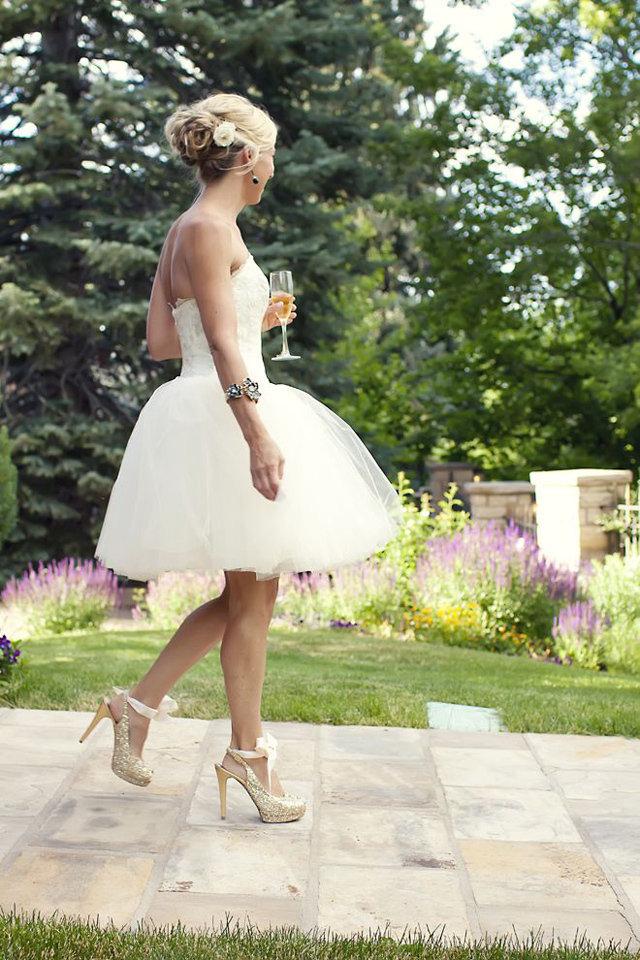 فستان-عروس-قصير
