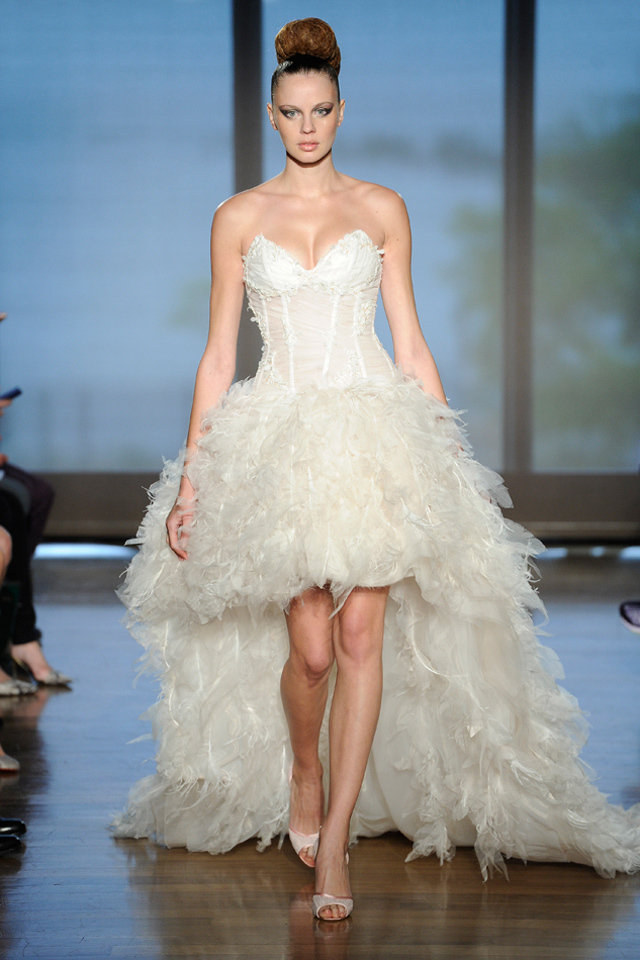 فستان-عروس-متدرج-الطول