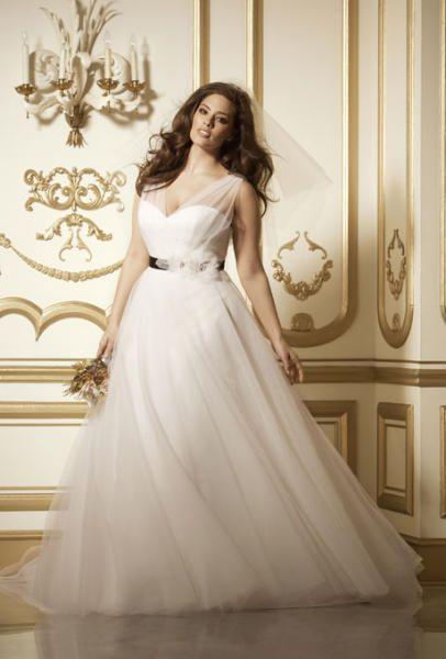 فستان-عروس-ممتلئة