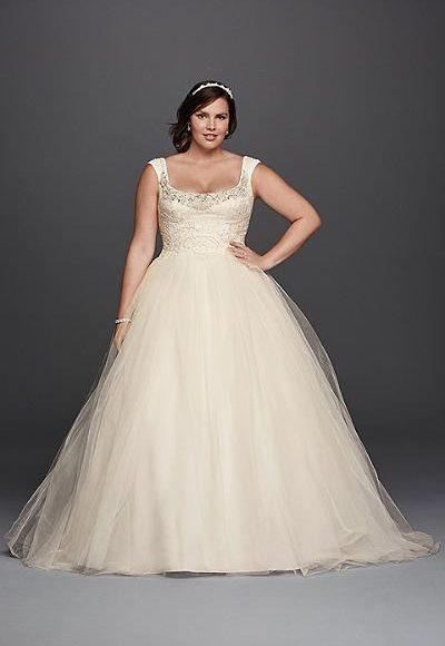 موديل فستان عروس منفوش