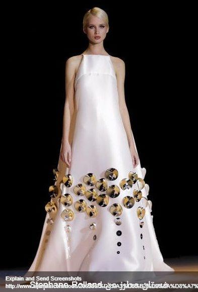 فستان من stephane rolland